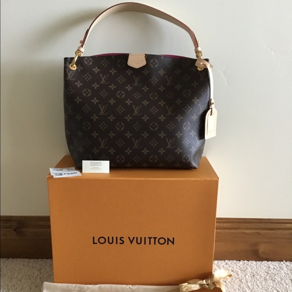 0bcd0b6cfac6 NWT Louis Vuitton Graceful PM Monogram Pivoine